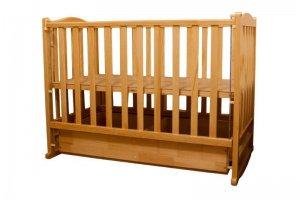Кровать детская Малютка с ящиком - Мебельная фабрика «Упоровская мебельная фабрика»