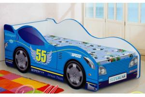 Кровать детская Машинка-1 - Мебельная фабрика «Уютный Дом»
