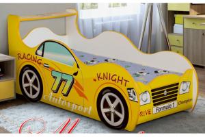 Кровать детская Машинка-2 - Мебельная фабрика «Уютный Дом»