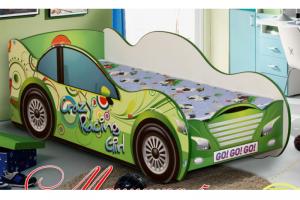 Кровать детская Машинка-5 - Мебельная фабрика «Уютный Дом»