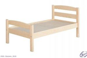 Кровать детская Массив - Мебельная фабрика «Элегия»