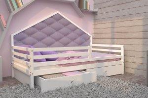 Кровать детская массив БК 14 - Мебельная фабрика «ВЭФ»