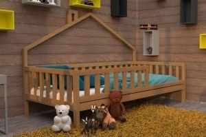 Кровать детская массив НК 11 - Мебельная фабрика «ВЭФ»