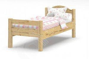 Кровать детская массив сосна - Мебельная фабрика «Андрей первый»