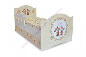 Кровать детская Мишки - Мебельная фабрика «Тридевятое царство»