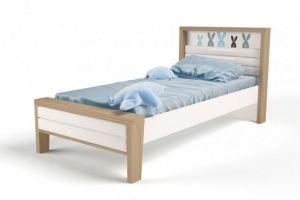 Кровать детская MIX Bunny blue 2 - Мебельная фабрика «ABC King»