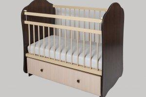 Кроватка детская №5 - Мебельная фабрика «Сафаня»