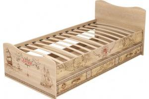 Кровать детская одинарная Квест 4 - Мебельная фабрика «Ижмебель»