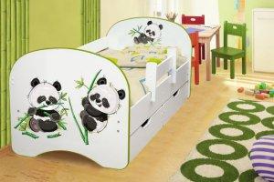 Кровать детская Пандочки - Мебельная фабрика «Аристократ»