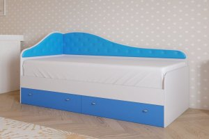 Кровать детская Радуга 1 - Мебельная фабрика «ДиВа мебель»