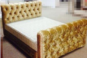 Кровать детская с мягкими спинками - Мебельная фабрика «Krovatiya»