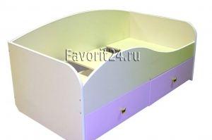 Кровать детская с ящиками - Мебельная фабрика «Фаворит»
