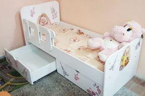 Кровать детская с ящиками - Мебельная фабрика «ПМК ВиП»