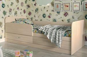 Кровать детская с ящиками Анеси-5 - Мебельная фабрика «ИнтерЛиния»