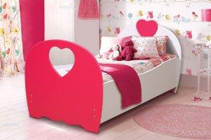 Кровать детская сердце - Мебельная фабрика «Матрица»