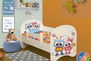 Кровать детская Совушки - Мебельная фабрика «Аристократ»