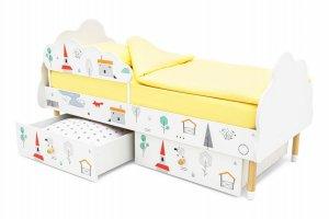 Кровать детская Stumpa Облако - Мебельная фабрика «Бельмарко»