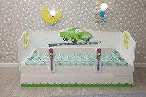 Кровать детская Тачки - Мебельная фабрика «Дубок»