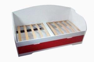 Кровать детская Унна красная - Мебельная фабрика «Дэрия»