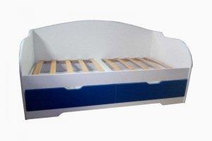 Кровать детская Унна синяя - Мебельная фабрика «Дэрия»