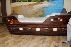 Кровать детская в виде корабля - Мебельная фабрика «Натали»
