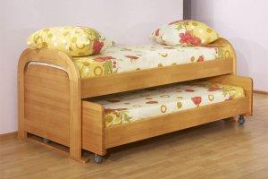 Кровать детская выдвижная - Мебельная фабрика «Святогор Мебель»