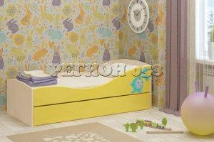 Кровать детская Юниор 10 - Мебельная фабрика «Регион 058»