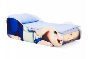 Кровать детская Зайчик-Морячок - Мебельная фабрика «Бельмарко»