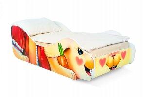 Кровать детская Зайка-Полли фотопечать - Мебельная фабрика «Бельмарко»