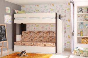 Кровать-диван Карамель  75 - Мебельная фабрика «Атлант»
