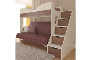 Кровать-диван Латте 77-01 - Мебельная фабрика «Атлант»