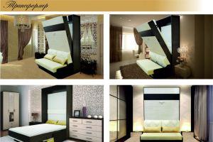 Кровать-диван трансформер - Мебельная фабрика «Салеж»