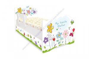Кровать для детей Цветочные сны - Мебельная фабрика «Тридевятое царство»