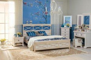 Кровать  Амели 160 - Мебельная фабрика «Любимый дом (Алмаз)»