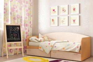 Кровать для детской КР 1 - Мебельная фабрика «Ваша мебель»