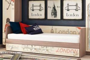 Кровать для детской КР 21 Лондон - Мебельная фабрика «Ваша мебель»
