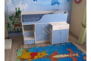 Кровать для детской Кузя 7 - Мебельная фабрика «СлавМебель»