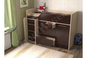 Кровать для детской Кузя 8 - Мебельная фабрика «СлавМебель»
