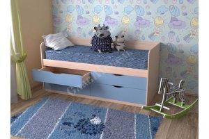 Кровать для детской Кузя 9 - Мебельная фабрика «СлавМебель»