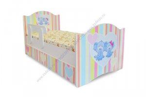 Кровать для ребенка Слоники - Мебельная фабрика «Тридевятое царство»