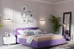 Кровать для спальни Cloud - Мебельная фабрика «ОГОГО Обстановочка!»
