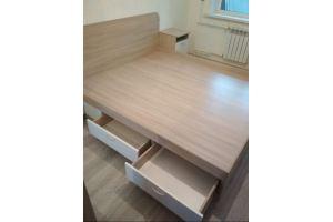 Кровать для спальни с ящиками - Мебельная фабрика «Мебелина»