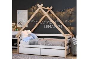 Кровать-дом в детскую - Мебельная фабрика «NUKI-TUKI»