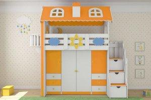 Кровать-домик - Мебельная фабрика «Альянс»