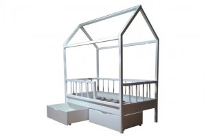 Кровать Домик - Мебельная фабрика «Дэрия»