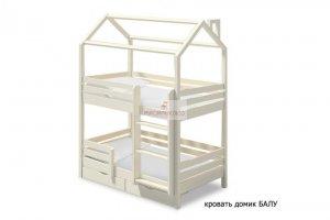 Кровать-домик Балу два яруса - Мебельная фабрика «МуромМебель (ИП Баранихина Г.И.)»