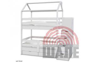 Кровать-домик Блум - Мебельная фабрика «ВМК-Шале»