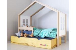 Кровать-домик Дом мага - Мебельная фабрика «Mamka»