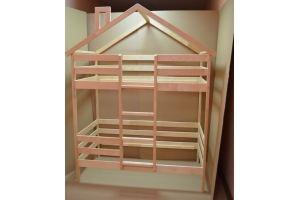 Кровать-домик двухъярусная - Мебельная фабрика «Юнона»