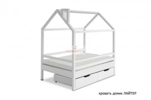 Кровать-домик Лайтер - Мебельная фабрика «МуромМебель (ИП Баранихина Г.И.)»